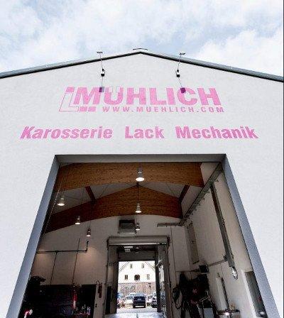 Werstatt L. Mühlich von außen