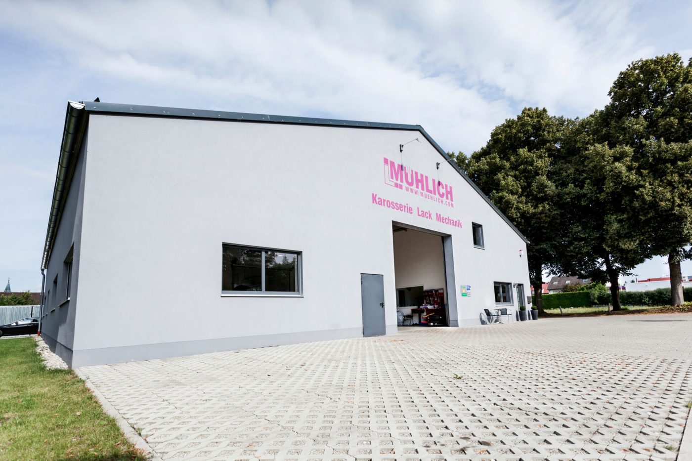 Mühlich Karosserie - Lack - Mechanik in Freising Meisterbetrieb